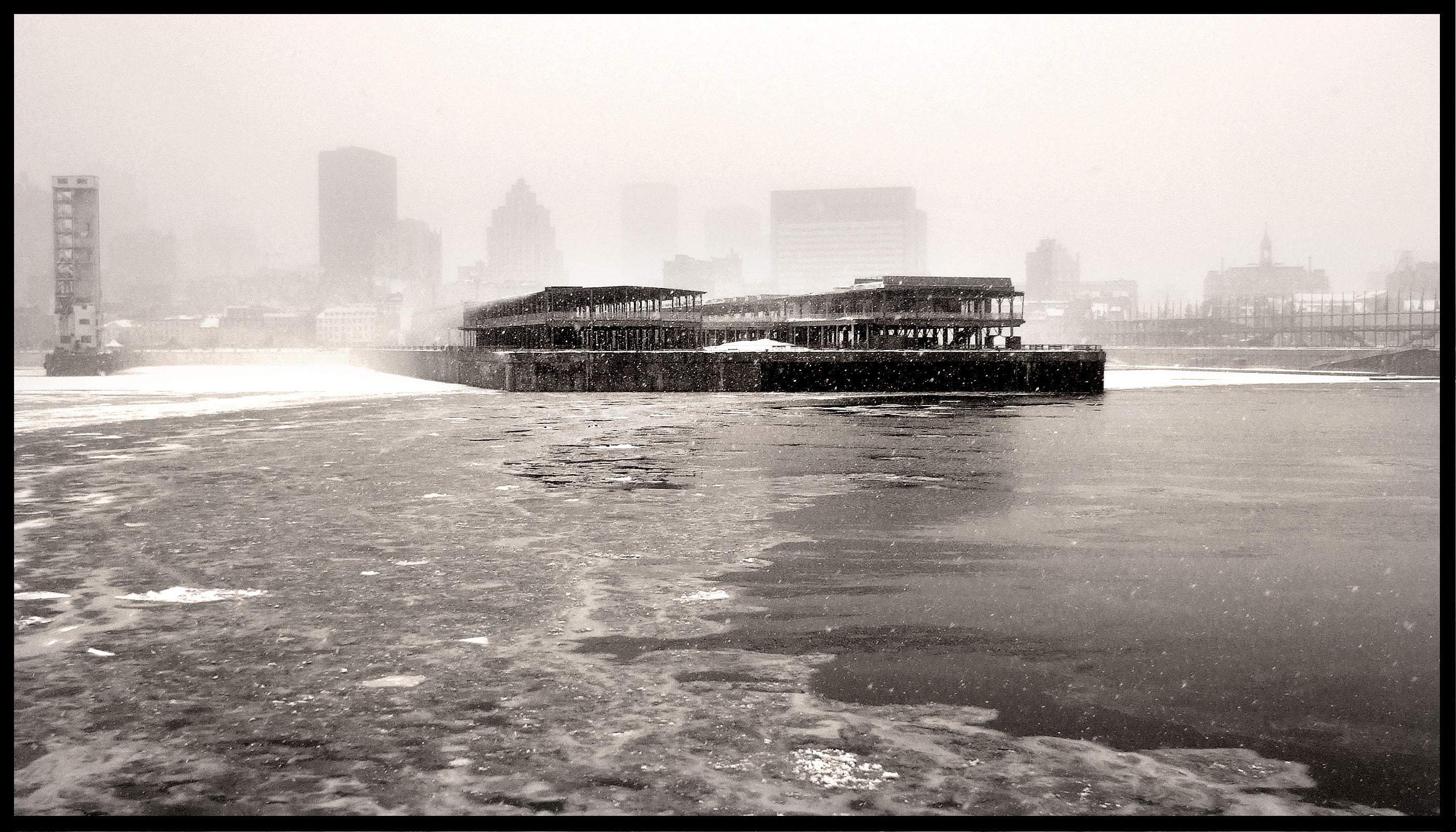 Tempete vieux port