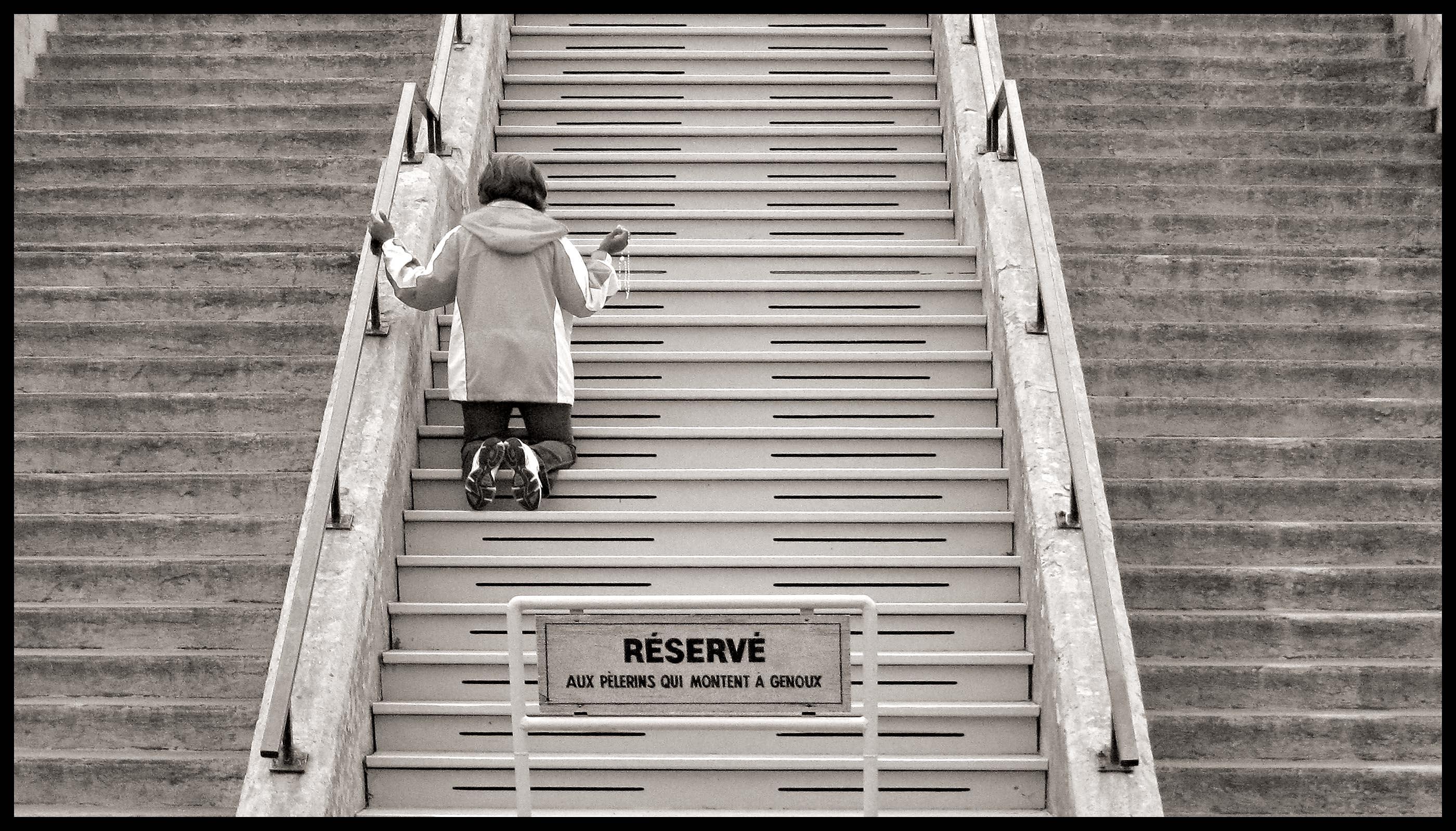 visiteur escalier 2