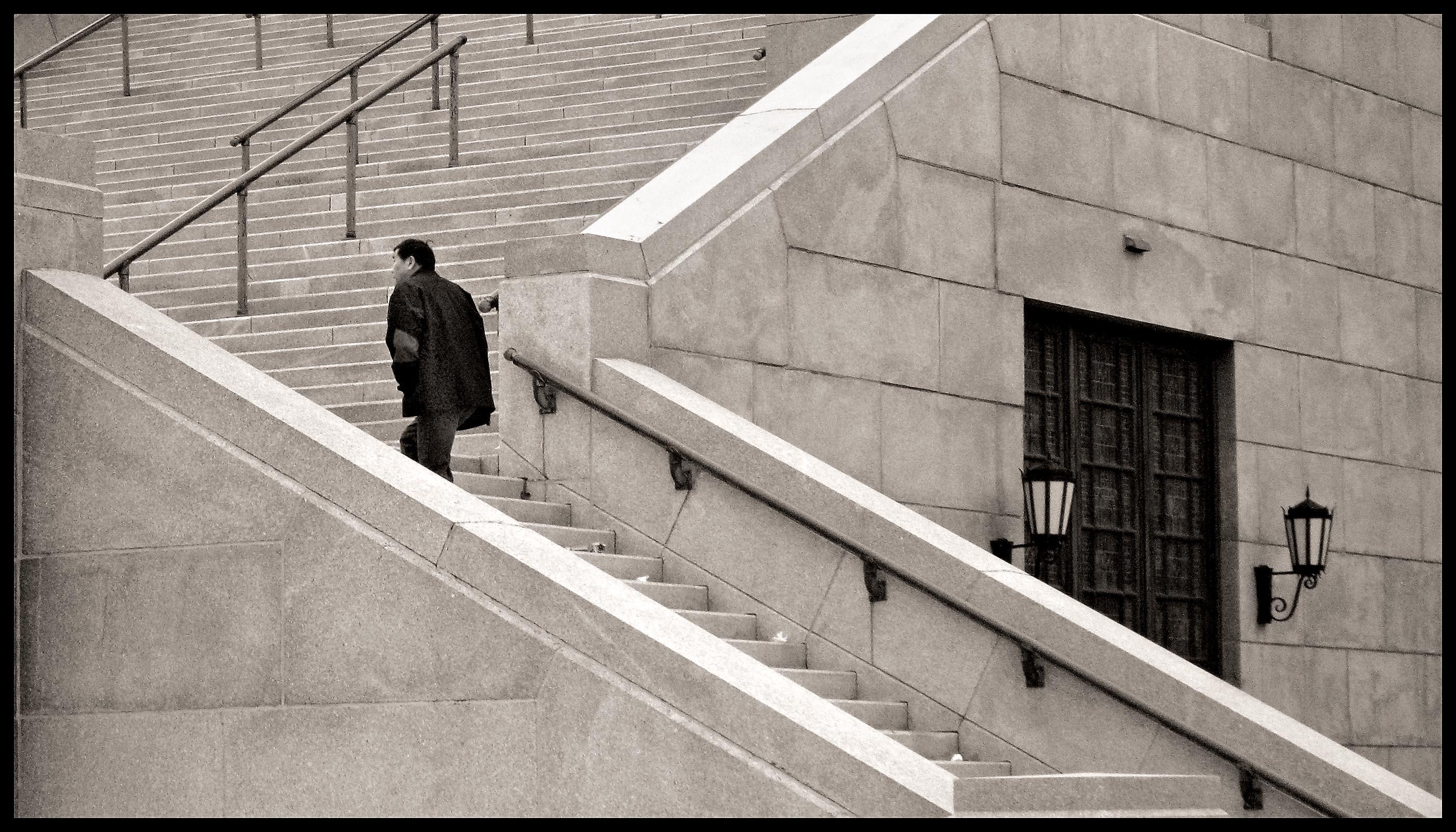 visiteur escalier 1